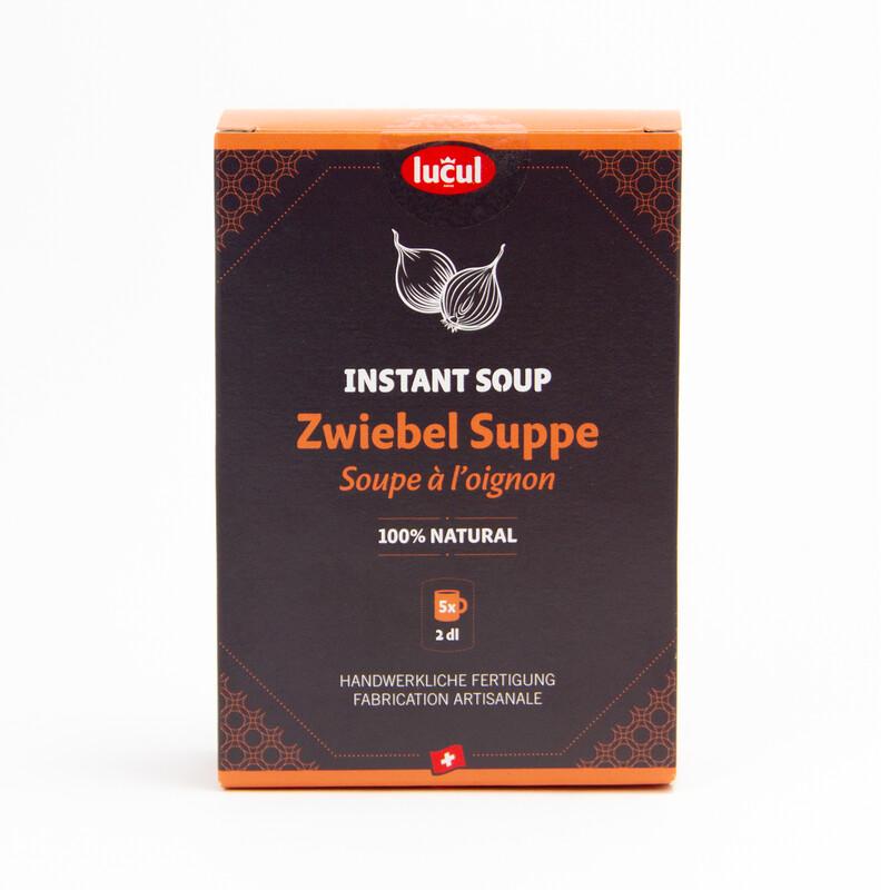 Instant soup - soupe à l'oignon 100% naturel