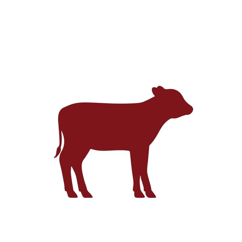 Bourguignonne veau pour une personne (250gr)