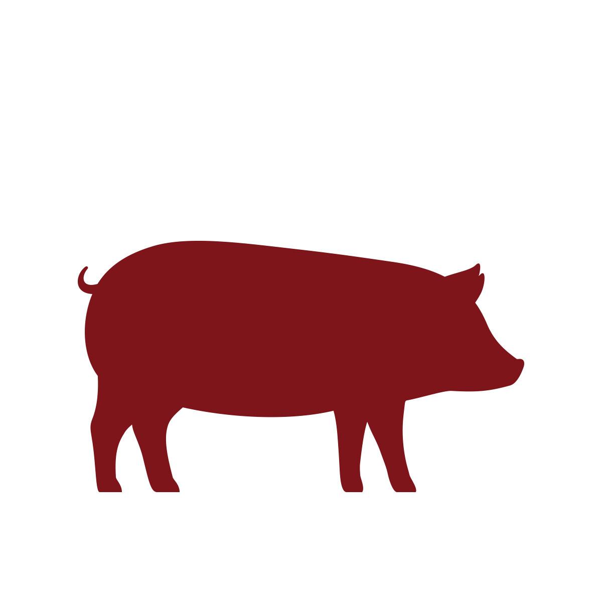 Lard fumé de la borne à cuire porc (100gr)