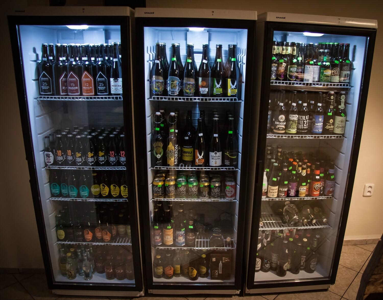 Lahvové z lednic (Zahraniční pivovary)  (seznam po rozkliknutí)