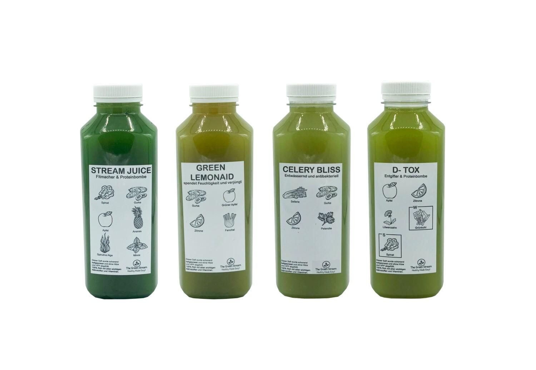 Grüne Juice Box
