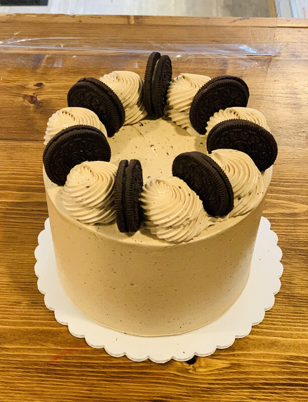 Coffee Oreo Cake