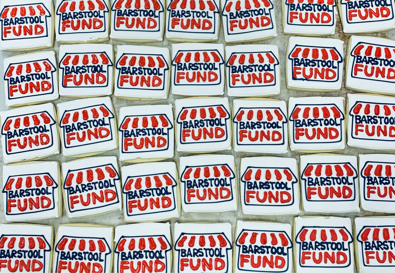 *SHIPPED* Barstool Fund cookies, 12 pack