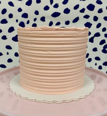 Vanilla raspberry cake