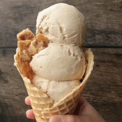 Brown Butter Almond Brickle - Pint
