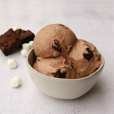 Mocha Brownie - 1/2 Gallon