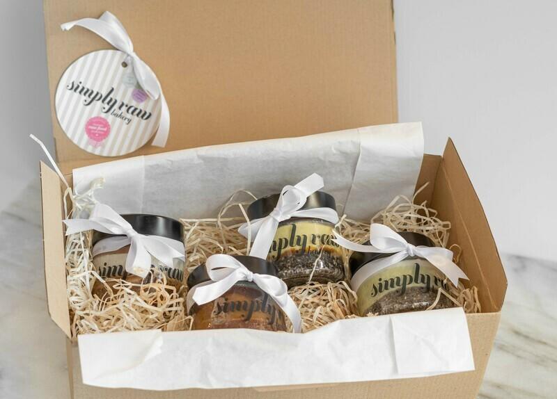 Geschenkebox Viererlei Cheesecake