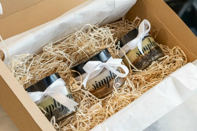 Geschenkebox Dreierlei Cheesecake
