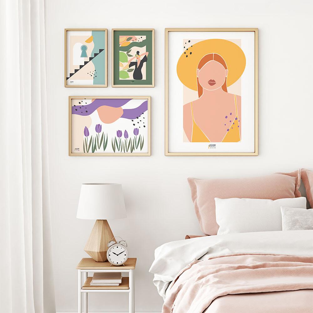 Plakaty #4roomsmethod - kolor