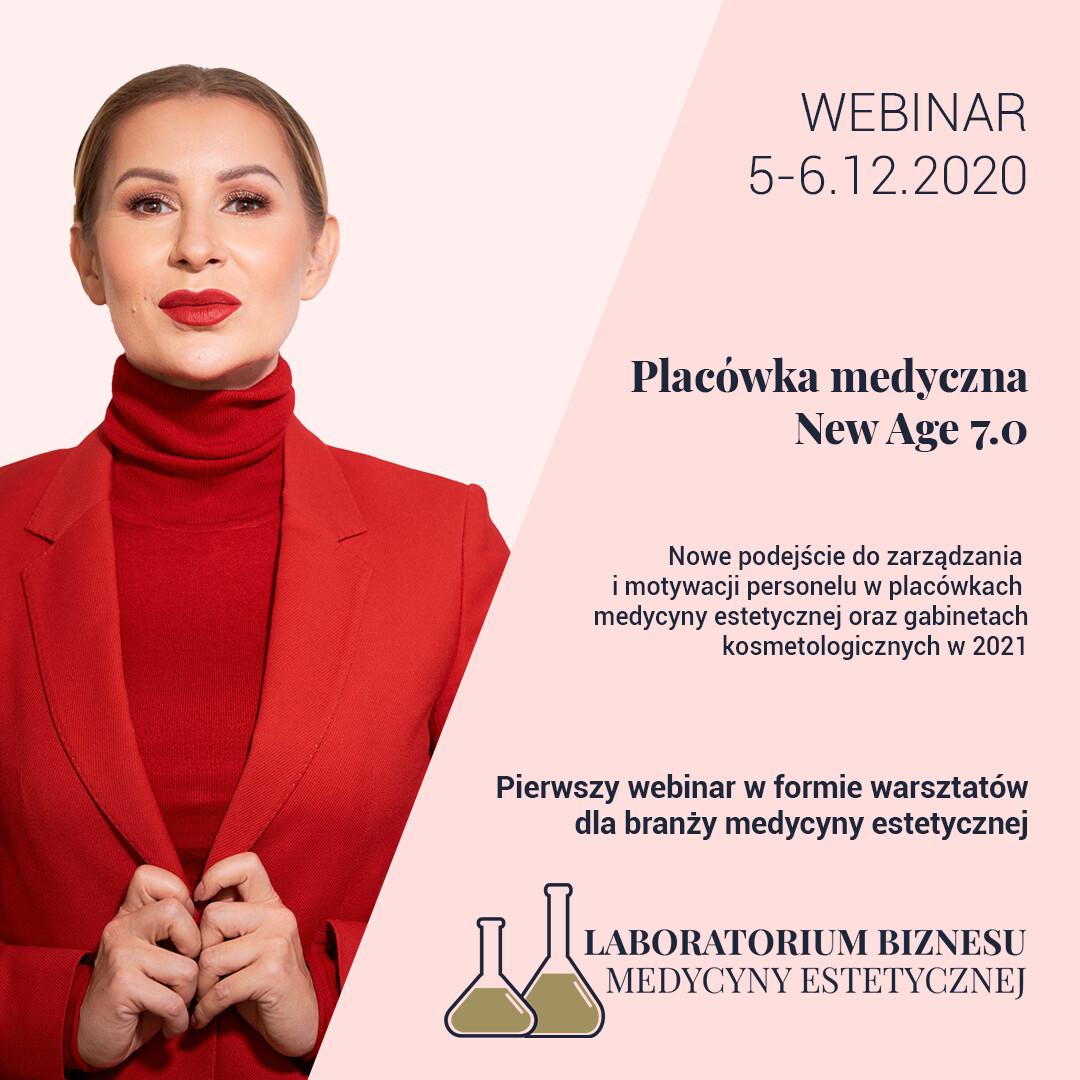 WEBINAR - Nowe podejście do zarządzania i motywacji personelu w placówkach medycyny estetycznej oraz gabinetach kosmetologicznych w 2021