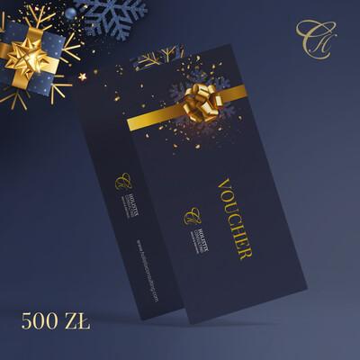 VOUCHER prezentowy o wartości 500 zł