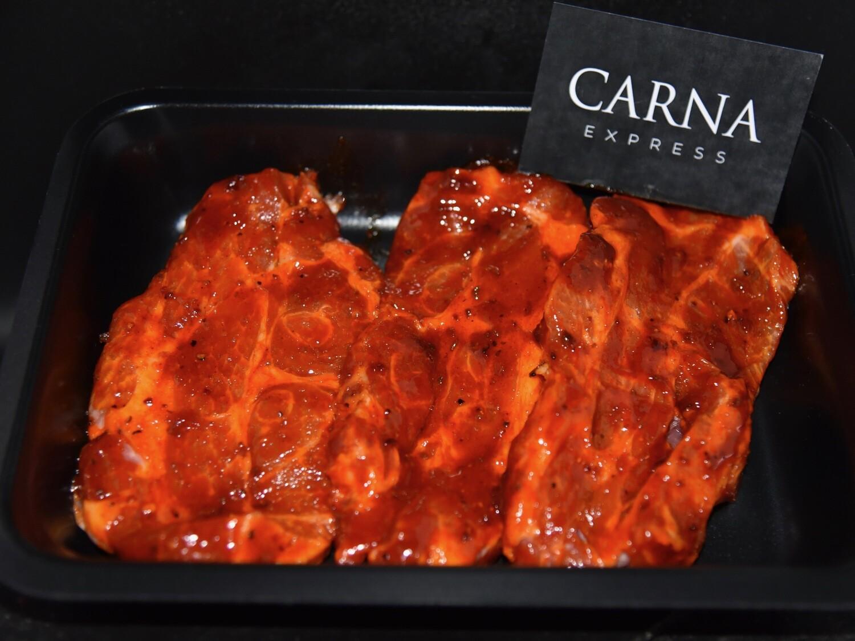 Cou de porc mariné Hot & Spicy