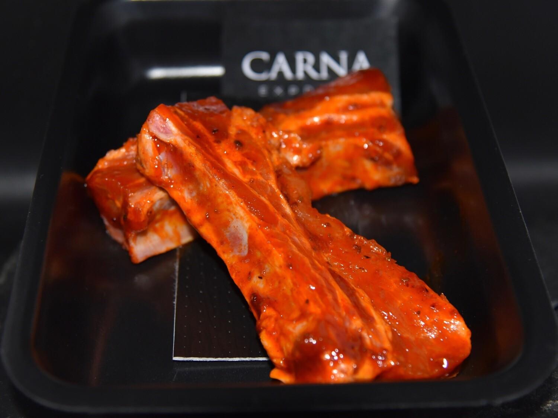 Fricassé de porc pointe avec os marinée Hot & Spicy