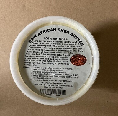 African Shea butter white color 16 OZ
