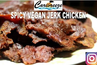Jamaican Very Spicy Vegan Jerk Chicken