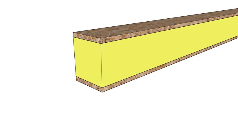 Internal Spline 2440x122x122mm