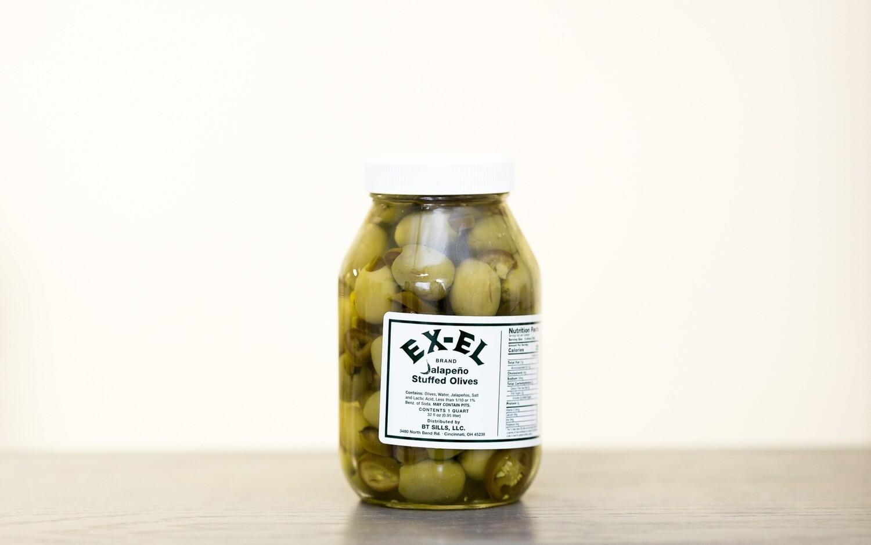 Jalapeno Stuffed Olives