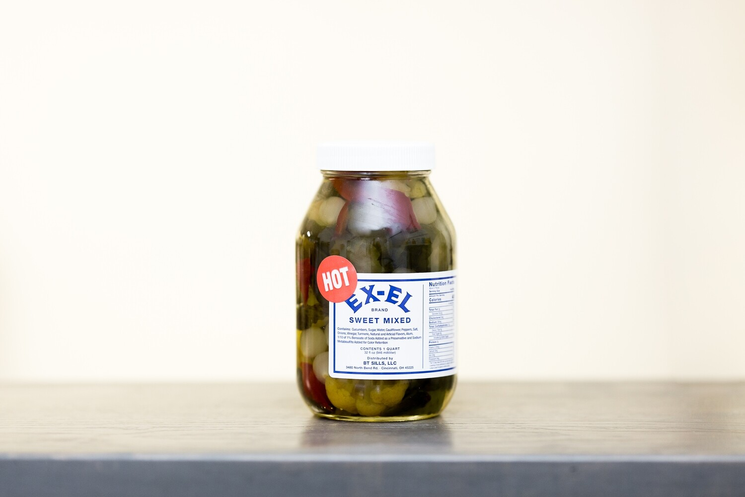 Hot Sweet Mixed Pickles