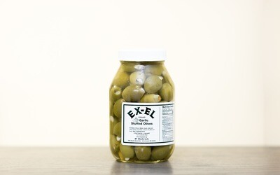 Garlic Stuffed Olives (must be kept refrigerated)