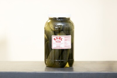 Hot Whole Dill Pickles