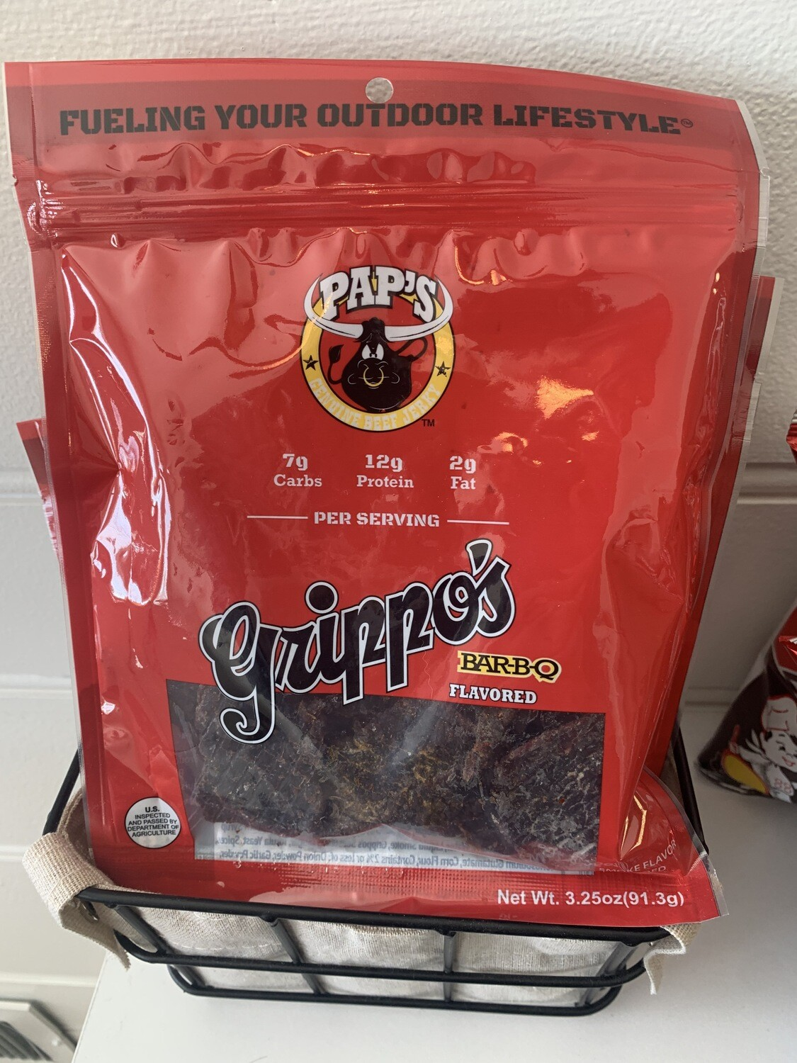 Grippo's BBQ Flavored Jerky