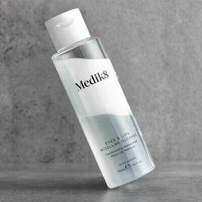 MEDIK8 Eyes & Lips Micellar Cleanse Struccante Trifasico