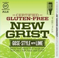 Lakefront New Grist Gose with Lime - 12 oz bottle