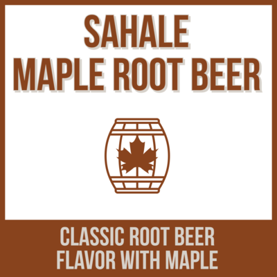 Sahale Maple Root Beer - 16 oz can