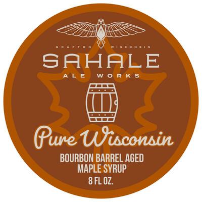 Bourbon Barrel-Aged Maple Syrup - 8 oz bottle