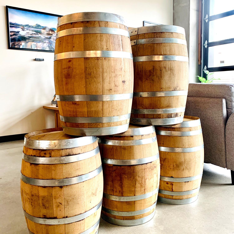 Used Whiskey Barrel