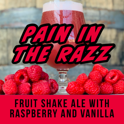 Pain In The Razz - 16oz can
