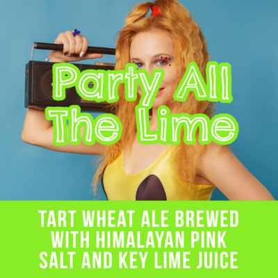 Party All The Lime - 16oz Can