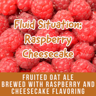 Fluid Situation: Raspberry Cheesecake - 16 oz can