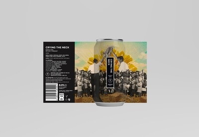 Crying The Neck | Wheat DIPA (Verdant Brew Co. Collab.) | ABV 8.0% | 1 x 440ml Can