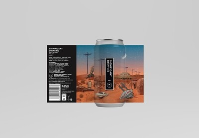 Significant Drifting | IPA | ABV 6.6% | 1 x 440ml Can