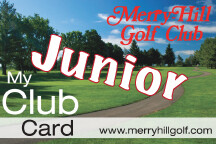Merry-Hill 2020 Junior Club Card 00031