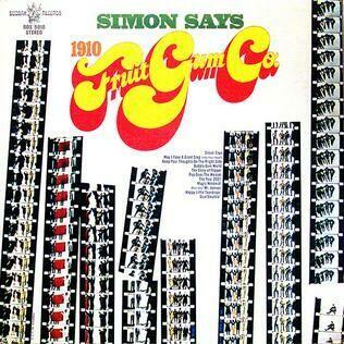 """1910 Fruitgum Co. """"Simon Says"""" EX+ 1968"""