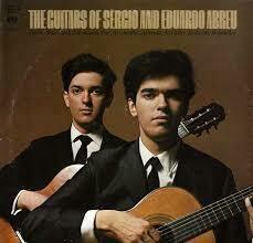 """Sérgio & Eduardo Abreu """"The Guitars Of..."""" VG+ 1971"""