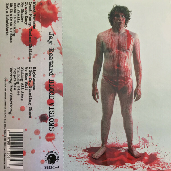 "Jay Reatard ""Blood Visions"" *TAPE*"
