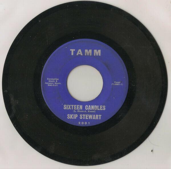 """Stewart, Skip """"Sixteen Candles"""" (G) 1965"""