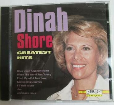 "Dinah Shore ""Greatest Hits"" *CD* 1972/re.1994"