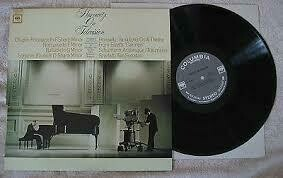 "Horowitz ""Beethoven: Appassionata Sonata/Waldstein Sonata"" VG+ 1974"