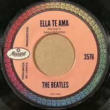 "The Beatles ""Ella Te Ama/La Vi Alla"" *45* VG+ 1964 {MX}"