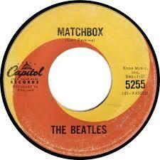 "The Beatles ""Matchbox / Slow Down"" *45* (G) 1964 *MONO*"