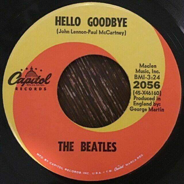 "The Beatles ""Hello Goodbye"" *45* (G) 1967 [r6967579]"