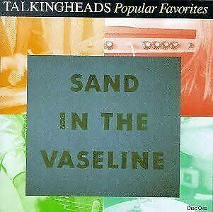 "Talking Heads ""Popular Favorites: Sand In The Vaseline"" *CD* 1992"