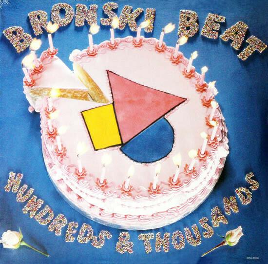 """Bronski Beat """"Hundreds & Thousands (The Remix Plus)"""" EX+ 1985"""
