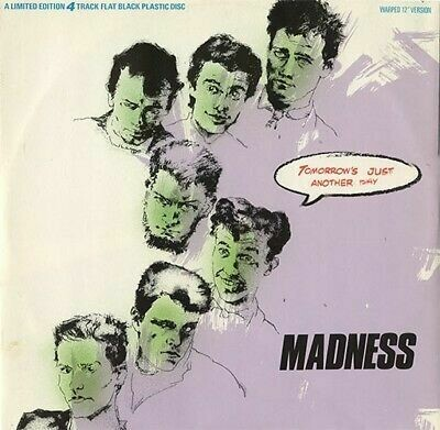 """Madness """"Tomorrow's Just Another Day"""" NM- 1985"""