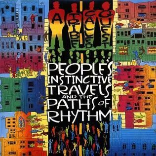 """A Tribe Called Quest """"People's Instinctive Travels..."""" VG+ 1990/re.1996 {2xLPs!}"""