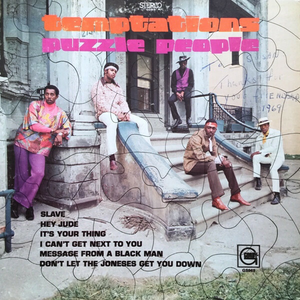 """The Temptations """"Puzzle People"""" VG+ 1969"""